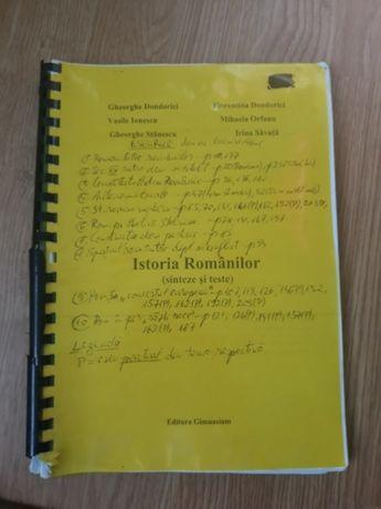 Istoria Romanilor(sinteze si teste)-Material pentru bacalaureat