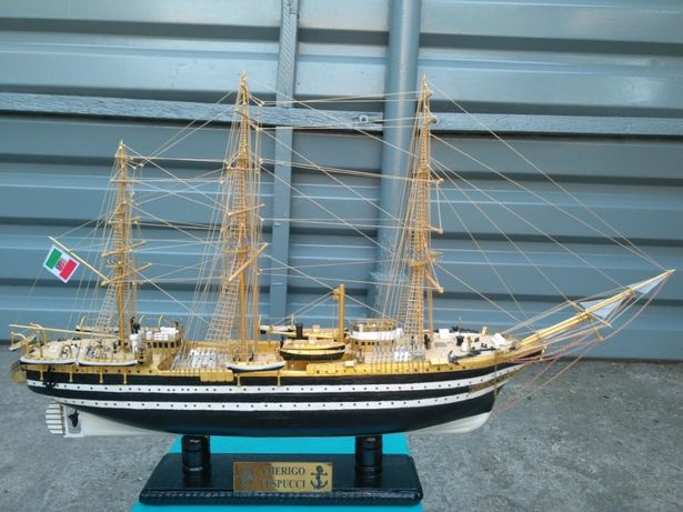 Деревянная Модель корабля Amerigo Vespucci