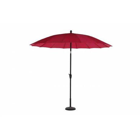 Umbrela soare pentru terasa rotunda structura metal, rosu D 270 cm