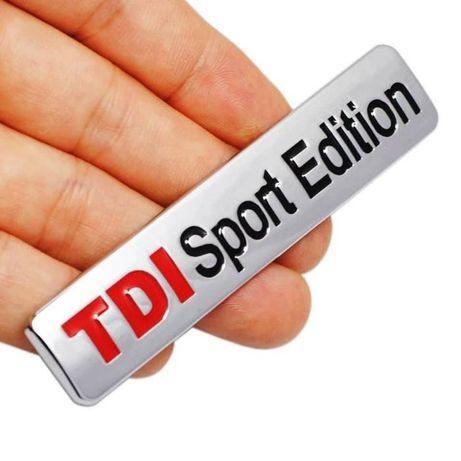 """Емблема """"tdi sport edition"""" за фолксваген"""