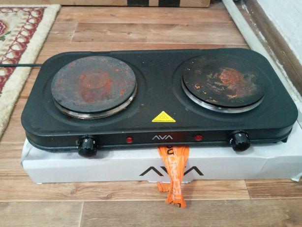 Электрическая плита, 2 конфорки