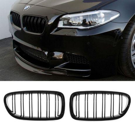 Grile BMW F10 Seria 5 2010-up Negru Lucios M///POWER