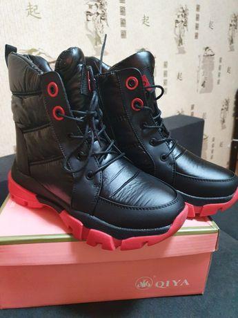 Модные ботинки на зиму