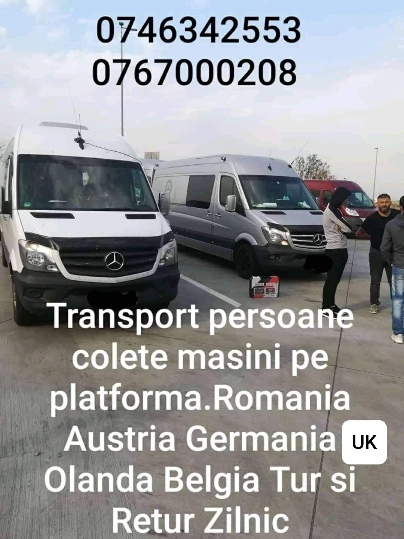 Transport Romania Belgia Anglia Olanda Germania