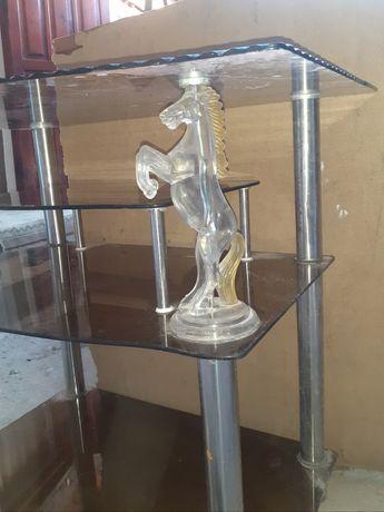 Стеклянный стол тод тв