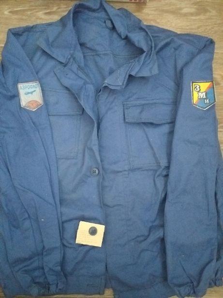 Рабочая рубашка/куртка/роба/китель из плотного хлопка - 2 штуки