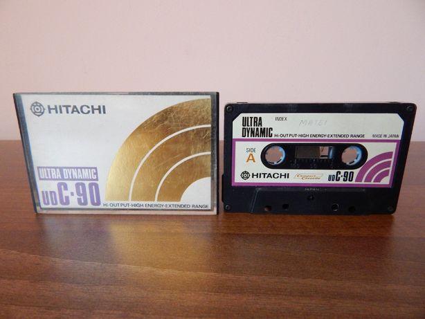 Caseta audio Hitachi Ultra Dynamic UD C-90 cu cap de curatare