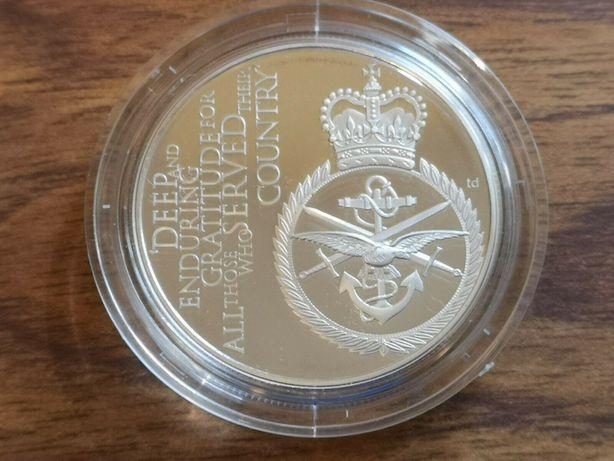 Moneda argint 2012 silver proof £5 Five Pounds coin 28.3g