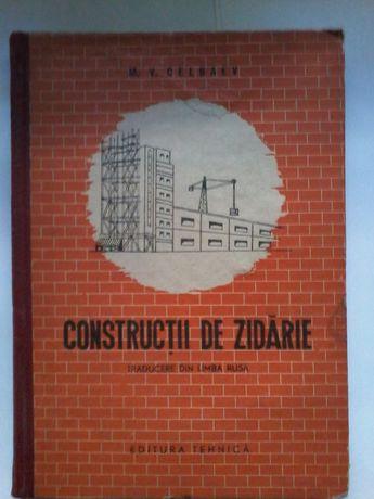 M. V. Celbaev - Constructii de zidarie