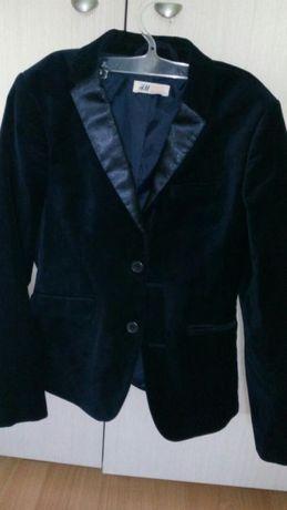 Страхотно момческо сако НМ и вратовръзка, ръст 152 см.