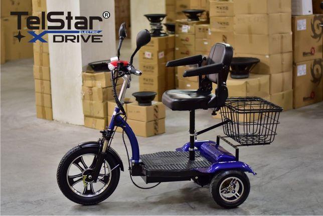 Tricicleta electrica TS-751 MET 48V 750W cu tracțiune spate, diferenți