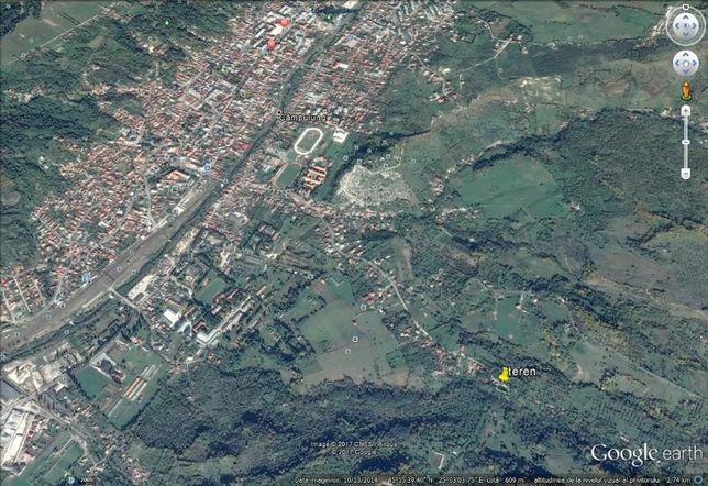 Teren intravilan 5500 mp - str. Gheorghe Mitu, Campulung Muscel