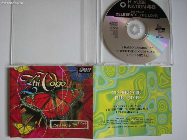 Zhivago - Celebrate the love CD Audio Maxi Single Dance