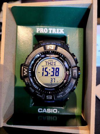 ceas Casio Pro Trek PRW-3510, solar, nou