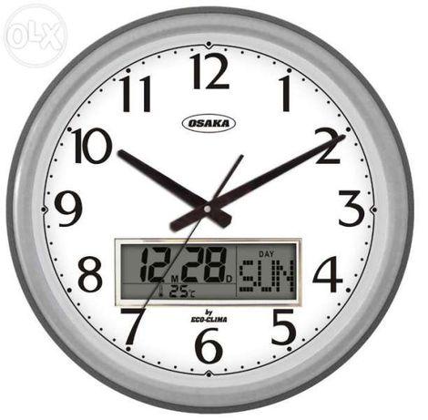 ТОП ОФЕРТА 65лв.! Стенен часовник OSAKA ЕCO-3164