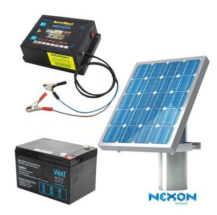 Gard electric Nexon HeavyShock Simple 5J+Solar 20W+Acumulator 12Ah