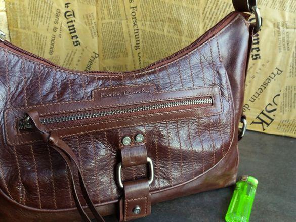 Betty Barclay /дамска чанта-естествена кожа