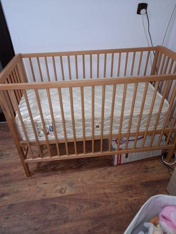 Pătuț lemn masiv nou nascuti