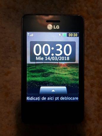 Telefon Lg T-385 . Telefonul este aproape nou .
