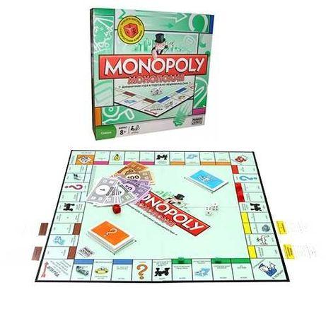 Настольная игра  классическая монополия