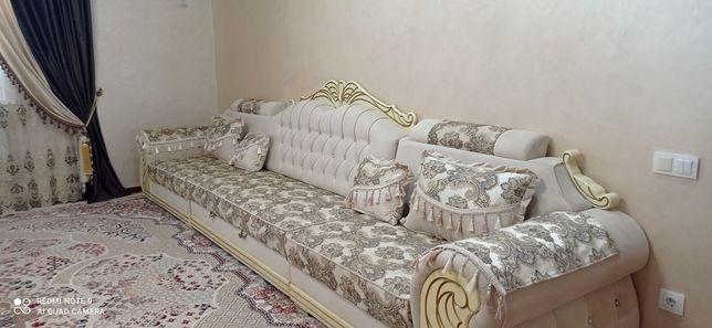 Раздвижной диван (угловай-прямой)