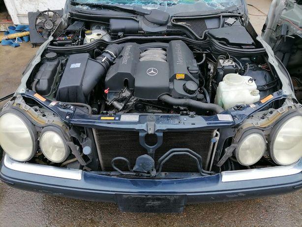 W210 Мерседес контрактный двигатель Япония распил бу запчасти мерс авт