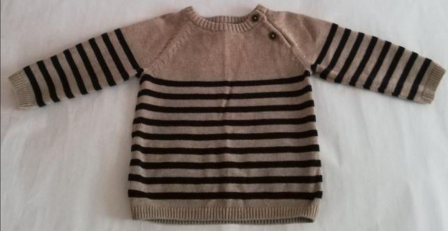 Vand pulover HM 68 cm 100%bbc
