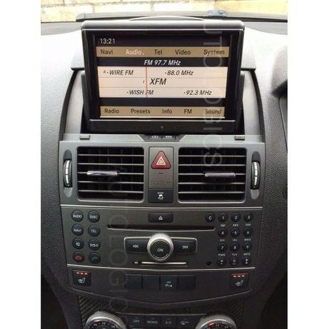 Ремонт на оригинален дисплей, навигация Мерцедес,Mercedes C-Class W204