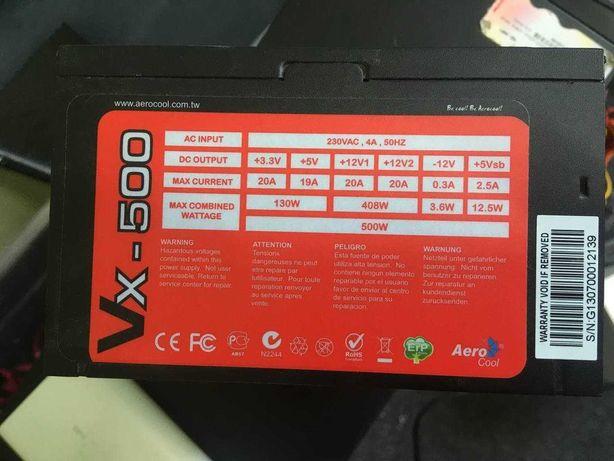 Блок питания Aerocool VX-500 для ПК
