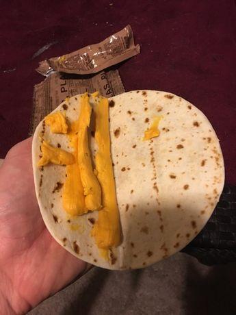 MRE ratii militare americane pachet tortilla