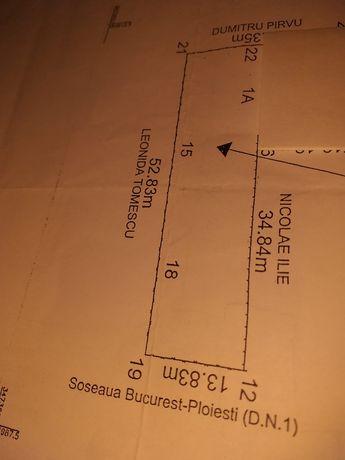 Vând teren în Saftica la dn1