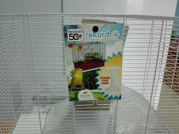 Клетка за птици нова на Ferplast.