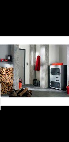 Centrala pe lemne Viessmann 80 Kw cu gazeificare