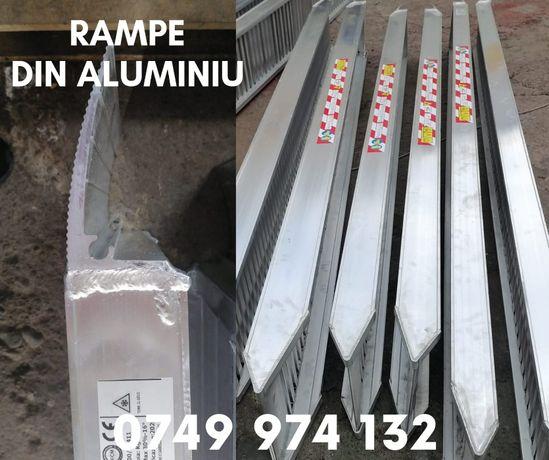 RAMPE Aluminiu incarcare utilaje, auto, NOI Italia