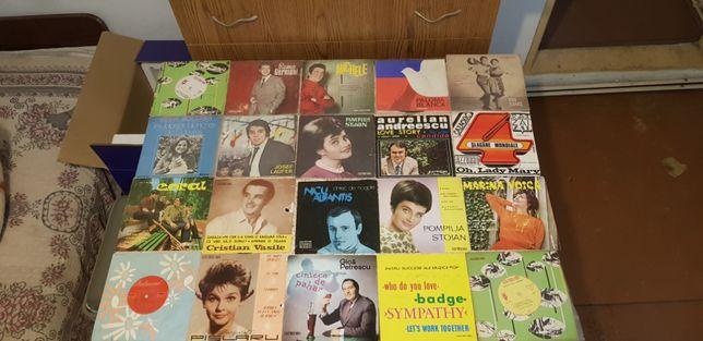 "Colectie 38 discuri vinyl 7"""