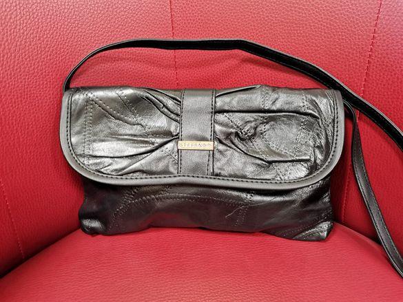 Нова дамска чанта от естествена кожа