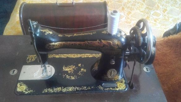 Шевна машина крачна и ръчна комбинирана