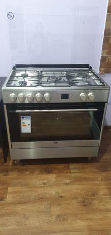Комбинированная плита  Beko GM 15321 DX