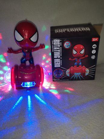 Jucărie muzicală cu lumini Spider man
