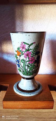 Керамична чаша/ваза с маркировка
