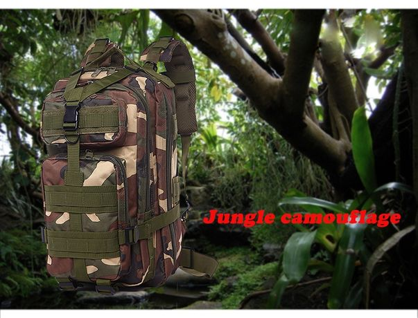 Rucsac Military Tactical Assault Molle Camuflaj