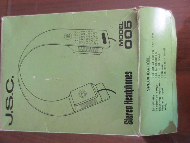 J.S.C. Headphones Model 005