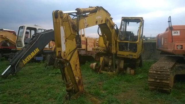 Excavator Faun FM1015, dezmembrez