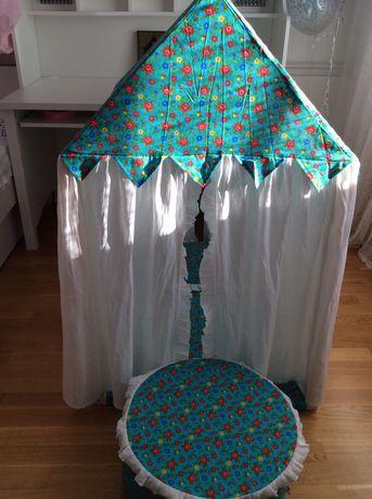 Продаю текстильный домик с пуфиком «Дворец Жасмина» PAREMO
