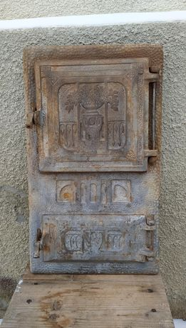 Ușa dubla soba teracota
