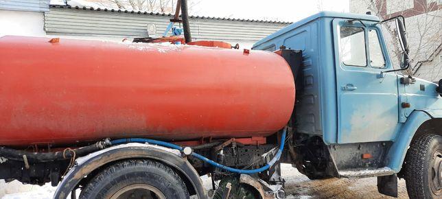 Услуги водовоз доставка тех-вода и горячая вода и питьевая вода