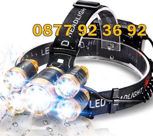 ПЕТОРЕН LED челник, фенер за глава, прожектор, модел: BL-5