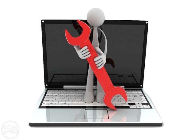 Repar PC - laptop, instalare windows 7 10, drivere, formatare, router