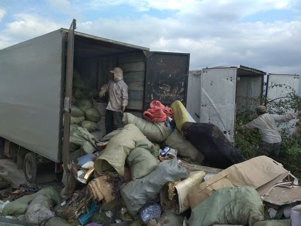 Вывоз мусора и грузчики