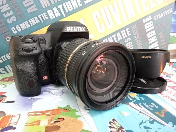 Pentax K5 II + Tamron 17-50 f2,8 + DA L 50-200 + adaptor M42-PK